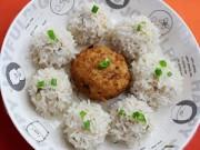 Bếp Eva - Thú vị với món xôi bọc thịt hấp