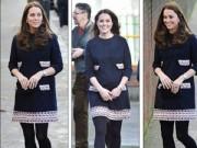 Làng sao - Ngắm bụng bầu ngày một lớn của Công nương Kate