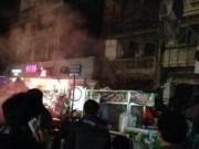 Tin tức - TQ: Nổ gas tại cửa hàng ăn khiến 25 người thương vong
