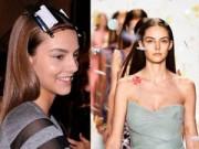 Làm đẹp - Cách giữ nếp tóc của người mẫu trước khi lên sàn catwalk