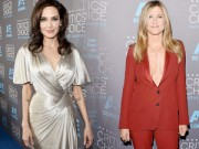 """Làng sao - Không né tránh, Angelina Jolie """"đối đầu"""" Jennifer Aniston"""