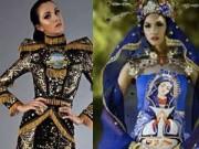 Thời trang - Trang phục dân tộc tại HH Hoàn vũ 2014 gây tranh cãi