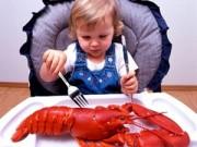 0-1 tuổi - Cho trẻ ăn dặm: Đừng sợ hải sản!