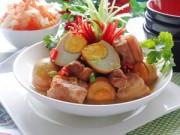 Thực đơn – Công thức - Tết miền Nam hấp dẫn với thịt kho hột vịt