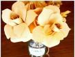 Nhà đẹp - Rảnh tay 5 phút làm hoa giấy hút mắt cho bàn làm việc
