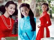 Người mẫu - Khánh My duyên dáng áo dài dưới nắng xuân