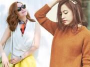 Thời trang - Tuần qua: Người đẹp rực rỡ đón nắng Đông