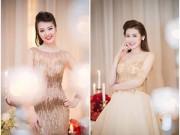 Hậu trường - Thụy Vân, Dương Tú Anh xinh đẹp như công chúa