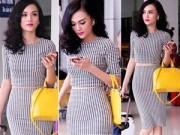 Thời trang - Cao Thùy Linh xinh đẹp ngỡ ngàng tại sân bay