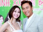 Làng sao - Khánh My gợi cảm bên tài tử TVB Mã Đức Chung