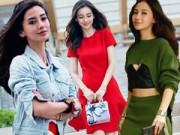 Thời trang - Váy áo miễn chê của Người đẹp Quốc dân