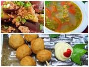 Bếp Eva - Bữa cơm thơm ngon với chả cá, canh chua hến