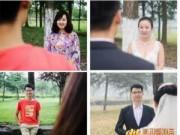 Chuyện tình yêu - Ảnh cưới đáng yêu của cặp đôi từng học chung trường