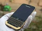 Eva Sành điệu - Xuất hiện phiên bản Blackberry Classic mạ vàng tại Việt Nam