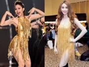 Thời trang - Sao Việt quyến rũ gấp bội nhờ đầm ánh kim