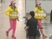 Người nổi tiếng - Lưu Hiểu Khánh ăn diện sặc sỡ dù đã ngoài 60