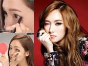 Làm đẹp - Học mỹ nhân Hàn trang điểm mắt một mí thành hai mí
