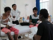 Tin trong nước - TP HCM: Nổ bình gas, 5 công nhân bị bỏng
