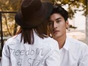 Người mẫu - Diện áo sơ mi đẹp lung linh như cặp đôi 9X
