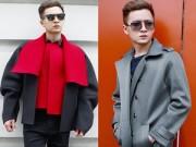 Thời trang - Mỹ nam Vbiz Ngô Kiến Huy sành điệu bất ngờ