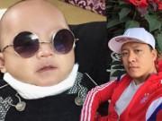 """Hậu trường - Con trai Tuấn Hưng cực """"ngầu"""" đi kiểm tra sức khỏe"""