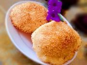 Bếp Eva - Bánh tiêu phồng xốp thơm nức mùi vừng