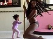 Clip Eva - Clip mẹ bồng con múa cột gây tranh cãi trên YouTube