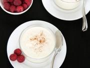 Thực đơn – Công thức - Tráng miệng với pudding gạo thanh mát