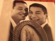 Thời trang Sao - Ảnh cưới lãng mạn của cặp đôi đồng tính nam đầu tiên Vbiz