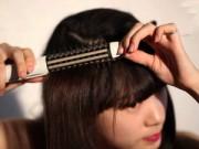 Hướng dẫn tạo kiểu tóc xoăn bằng máy sấy tại nhà