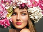Làm đẹp - Ngày Tết, tận dụng hoa xuân làm mặt nạ dưỡng da