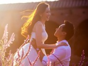 Làng sao - Ảnh cưới lãng mạn như cổ tích của Trúc Diễm