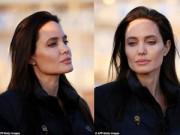 Làng sao - Angelina Jolie mộc mạc tham gia sự kiện