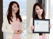 Làng sao - Hoa hậu Jennifer Chung tiết lộ tuổi thơ dữ dội