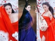 """Làng sao - Trương Nhi gợi cảm hóa """"ác nữ"""" Lý Mạc Sầu"""
