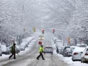Tin tức - Chùm ảnh: Bão tuyết lịch sử tràn vào đông bắc Mỹ