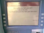 """Tin tức - Gần Tết, ATM """"dở chứng"""" bất chấp lệnh phạt"""