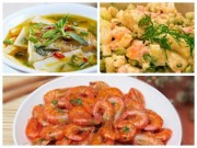 Bếp Eva - Bữa chiều sang với rôm rim, canh cá