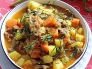 Bếp Eva - Bò hầm cà chua cho bữa cơm thêm ấm