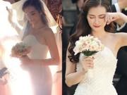 Thời trang Sao - Hé lộ 4 chiếc váy cưới tuyệt đẹp của Trúc Diễm