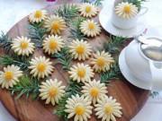 Bếp Eva - Bánh quy hình hoa cúc chào đón Xuân