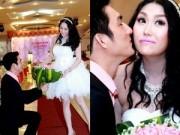 Làng sao - Phi Thanh Vân bất ngờ được chồng quỳ gối tặng hoa