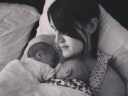 Sau sinh - Kỳ lạ mẹ không có tử cung vẫn sinh đôi