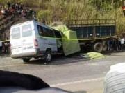 Tin tức - Tài xế vụ tai nạn làm 10 người chết chưa có bằng lái xe khách