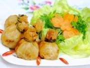 Bếp nhà tôi  - Cuối tuần làm nem khoai tây ăn nào!