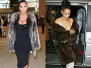 """Thời trang - Sao Hollywood và """"cuộc đua"""" áo lông sang chảnh"""