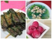 Bếp Eva - Bò nướng lá lốt, canh ngao ấm áp cơm chiều