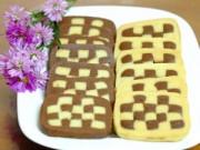 Bếp Eva - Bánh quy hình bàn cờ giòn tan