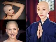 Làm đẹp - Mỹ nhân thế giới lạ mắt với hình ảnh đầu trọc