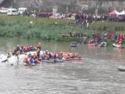 Máy bay Đài Loan lao xuống sông, 12 người thiệt mạng